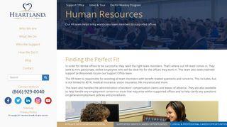 Human Resources | Heartland Dental