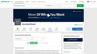 Heartland Dental Employee Benefits and Perks | Glassdoor