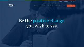 Hero: Student Behavior Management Applications for Schools
