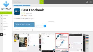 Fast Facebook 3.7.2 for Android - Download