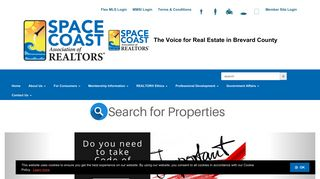 Home - Space Coast Association of REALTORS®.