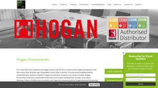Hogan Assessments - UK's first distributor   20 years experience - PCL