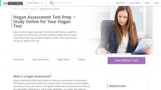 Hogan Assessment Sample Questions & Online Test Prep - JobTestPrep