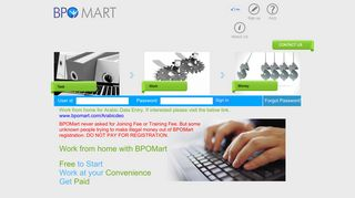 BPOMart: Online Data Entry Jobs | Online Data Entry Work from Home ...
