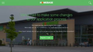 Candidate login & job alerts · Homebase Careers
