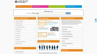 Hounslow Libraries: Hounslow homepage