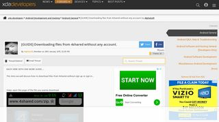 [GUIDE] Downloading files from 4shared witho…   Android ...