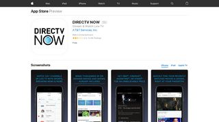 DIRECTV NOW on the App Store - iTunes - Apple