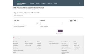 HP Customer Portal