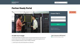 Login - Partner Ready Portal - HPE