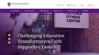 Hardin-Simmons University: Christian University in Texas