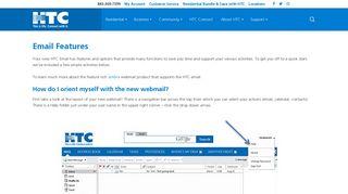 HTC Webmail Features | HTC Inc.