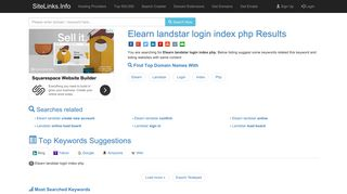 Elearn landstar login index php Results For Websites Listing