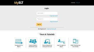 MyELT | Online English Language Learning