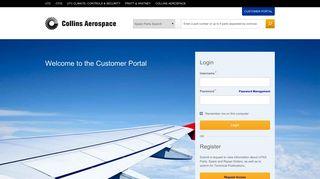 UTC Aerospace Systems Customer Portal