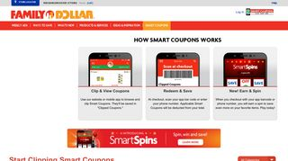 Digital Coupons | Family Dollar