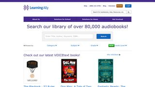 Learning Ally | Audiobooks - Browse Audiobooks - Audio Books