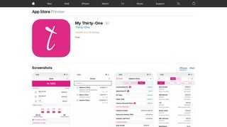 My Thirty-One on the App Store - iTunes - Apple