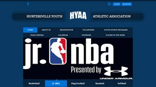 Basketball registration is now open - Huntersville Youth Athletic ...