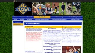 Travel Basketball   Hanover Youth Athletic Association