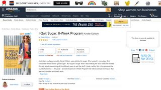 I Quit Sugar: 8-Week Program - Kindle edition by Sarah Wilson ...