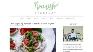 I Quit Sugar: My approach to the IQS 8 Week Program | Nourish Every ...