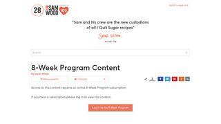 8-Week Program Content - I Quit Sugar recipes - 28 by Sam Wood