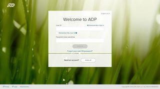 Login   ADP Workforce Now®