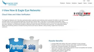 i-View Now + Eagle Eye Networks Integrated Solution   Eagle Eye ...