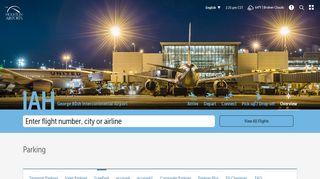 IAH SurePark   Houston Airport System