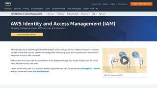 AWS Identity and Access Management (IAM) - Amazon.com