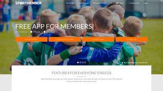 SportMember - Free Online Member System For Team & Club