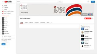 iAN TV Armenia - YouTube