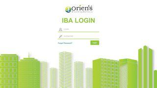 IBA Login - Oriens