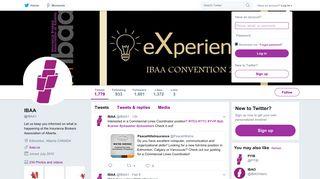 IBAA (@IBAA1) | Twitter
