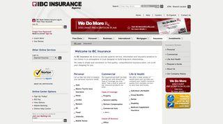 IBC Insurance Agency   Home - IBC Bank