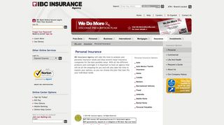 Personal Insurance   IBC Insurance Agency - IBC.com
