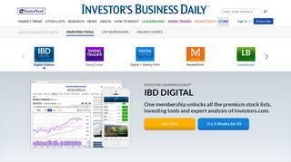 IBD Digital | Investor's Business Daily