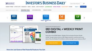 Digital + Weekly Print - Investor's Business Daily