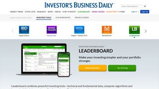 Leaderboard | Investor's Business Daily