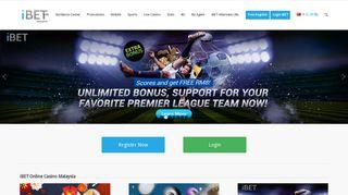 iBET   Online Casino Malaysia