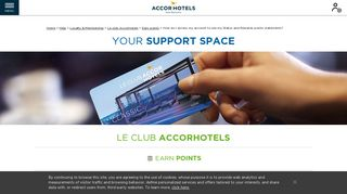 How do I access my account to see my Le Club AccorHotels ... - Ibis
