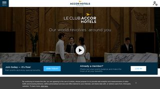 Le Club AccorHotels: our world revolves around you