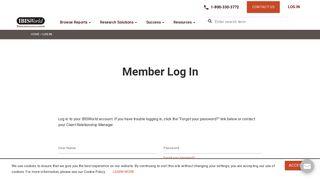 Log In - IBISWorld