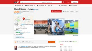 Blink Fitness - Noho - 56 Photos & 265 Reviews - Gyms - 16 East 4th ...