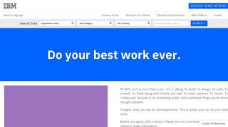 Jobs and Careers | IBM