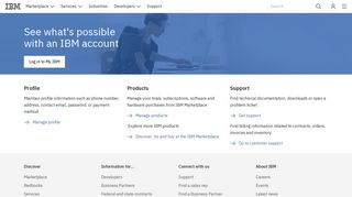 IBM - My IBM - United States