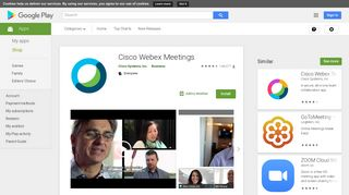 Cisco Webex Meetings - Apps on Google Play