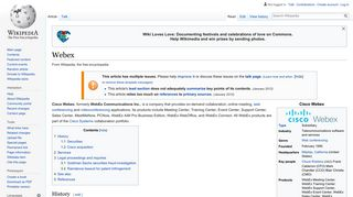 Webex - Wikipedia