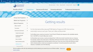 How to get results | Diploma Programme - International Baccalaureate®